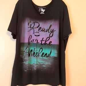 Just My Size Women's TShirt Plus Size 3X
